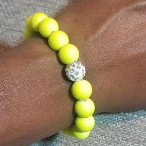 3/$20 ❤❤❤ Neon Yellow Bracelet